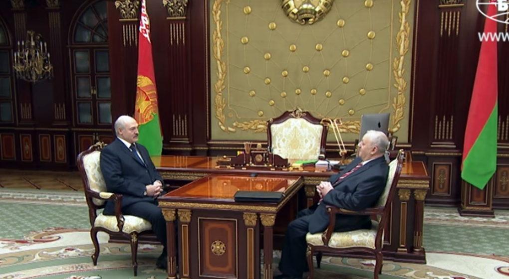 13февраля проходит встреча Лукашенко и основного редактора «Народной воли»