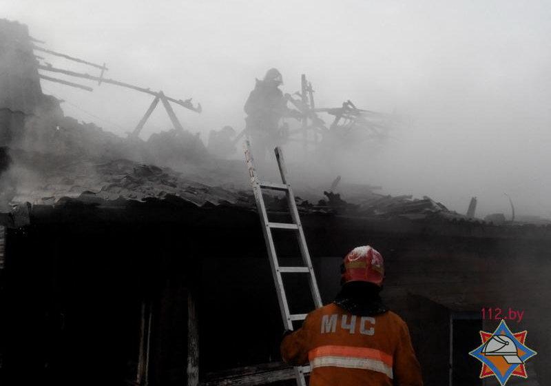 В Ляховичах в огне погибла женщина