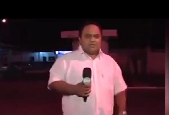 Бразильский репортер в прямом эфире предсказал аварию