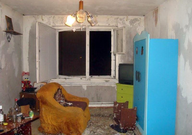 В Барановичах пожарные спасли из огня человека