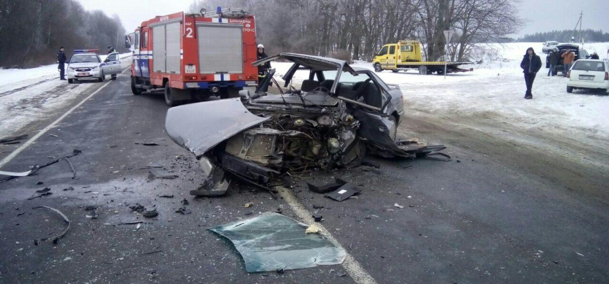 В Барановичском регионе два человека пострадали в двух ДТП