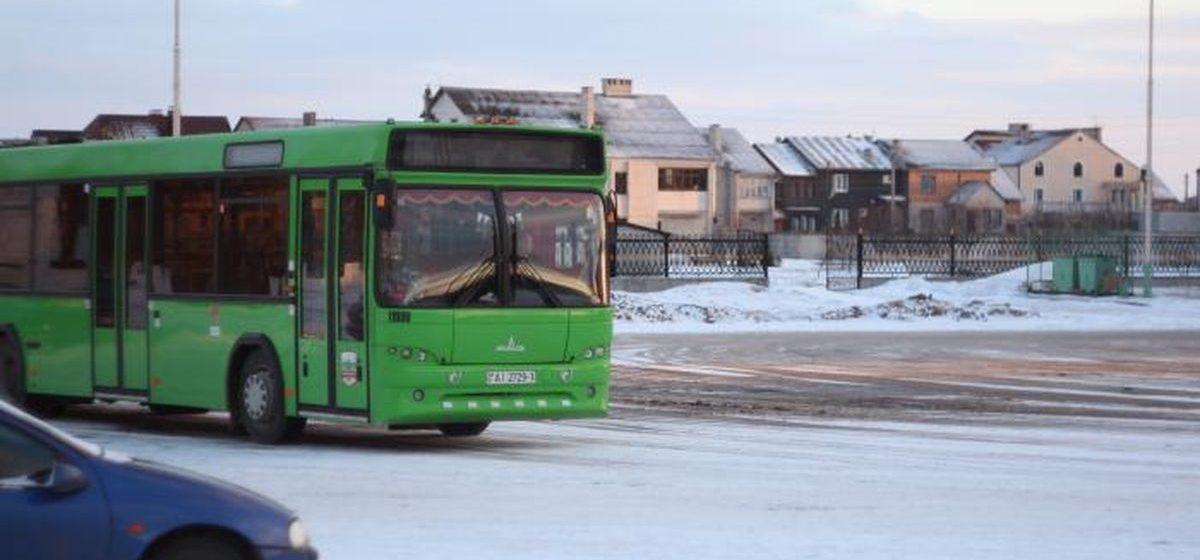 В Барановичах изменят маршрут следования автобуса №15?