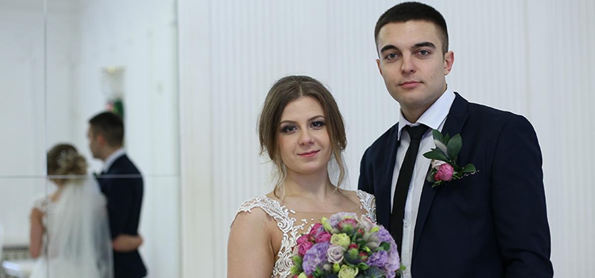 Как прошел День святого Валентина в Барановичском ЗАГСе