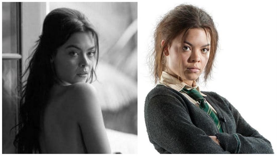 Актриса из Гарри Поттера снялась для Playboy