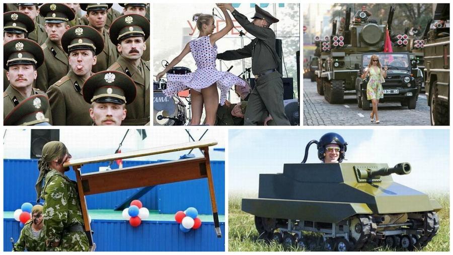 Подборка смешных фото, подтверждающих, что армия — неиссякаемый источник приколов