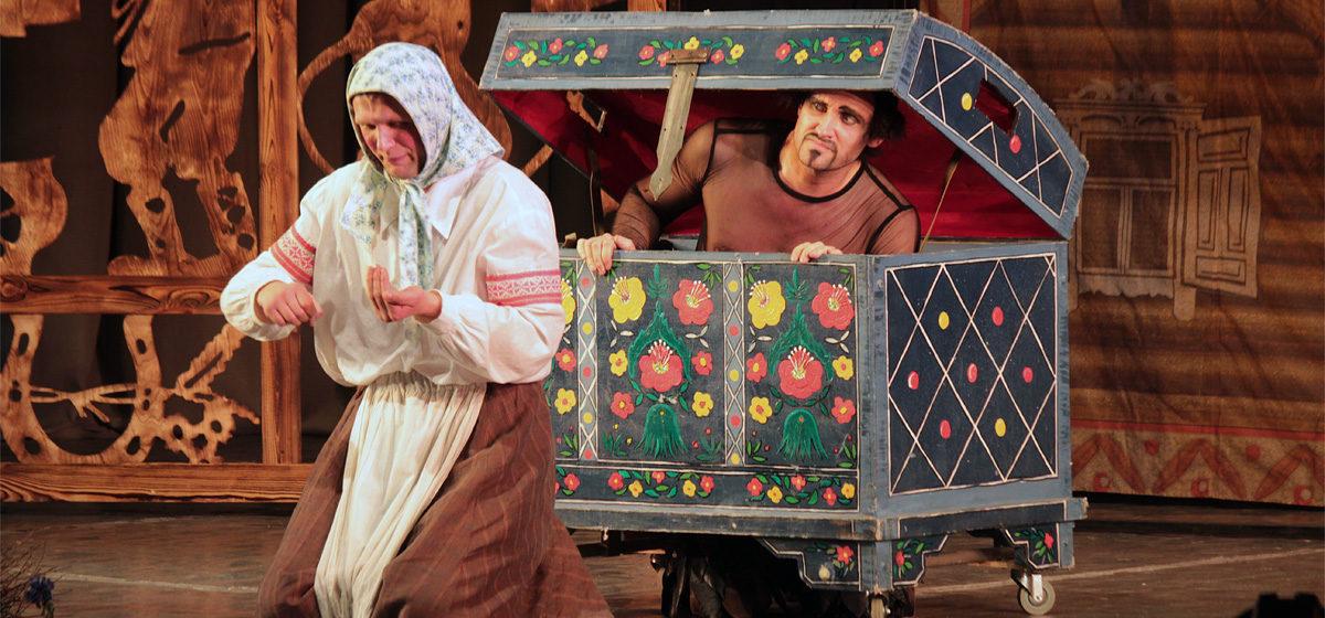 Спектакль «Адамавы жарты» в Барановичах прошел на «бис!»