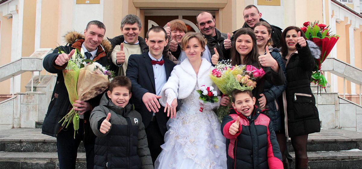 Свадебная пара недели: Владимир и Елена