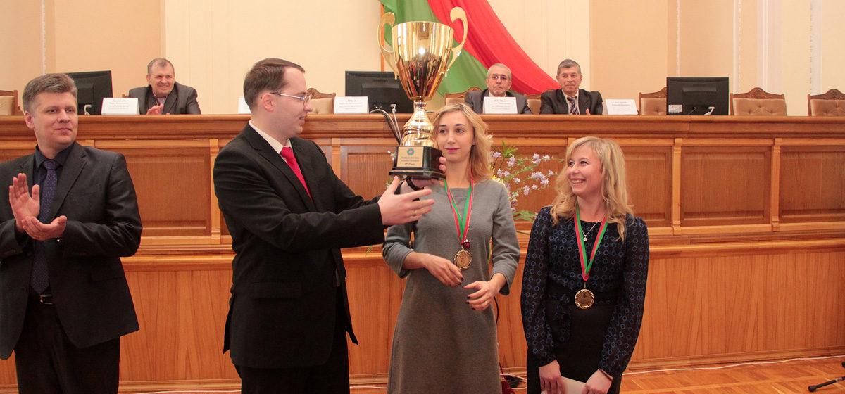 В Барановичах чествовали лучших спортсменов города