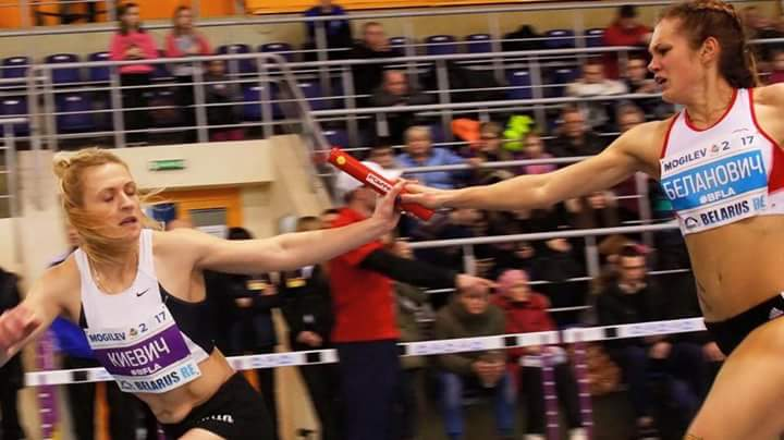 Барановичские легкоатлеты завоевали пять наград чемпионата страны