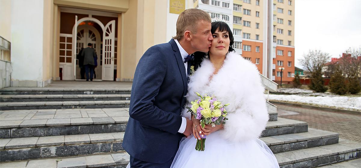 Свадебная пара недели: Марина и Андрей