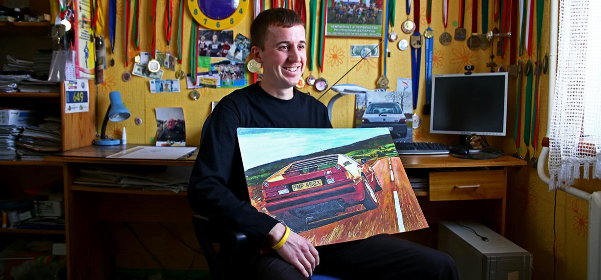 Барановичский художник рисует картины, похожие на фотографии