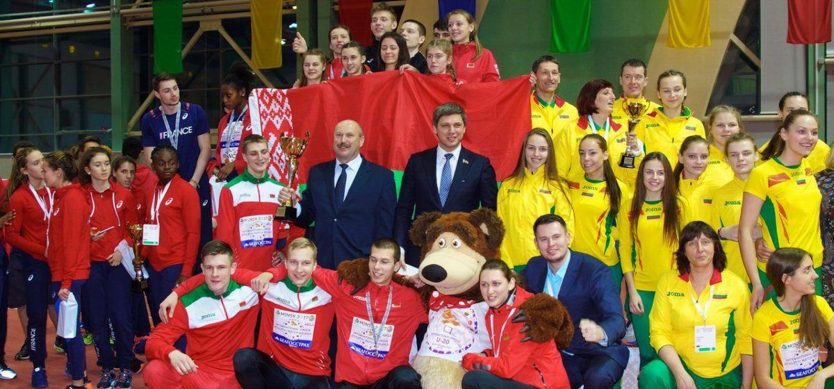 Воспитанница Барановичской СДЮШОР №2 по легкой атлетике стала победительницей международного турнира