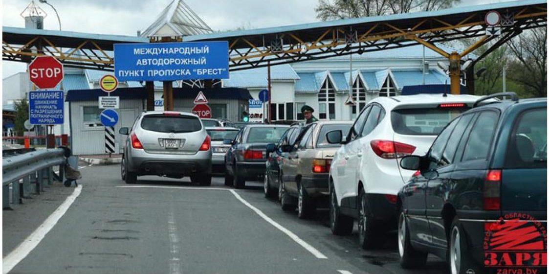 На белорусско-польской границе водители подрались из-за места в очереди