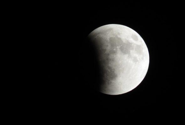 В ночь на 11 февраля белорусы смогут наблюдать лунное затмение