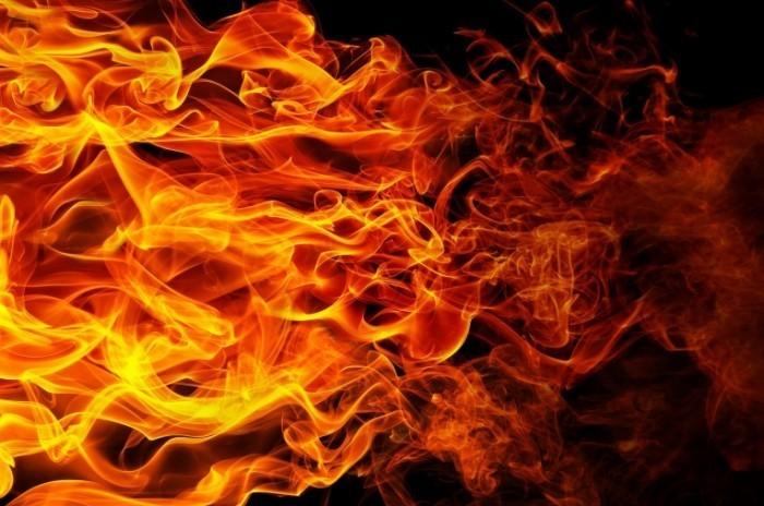 Под Барановичами горел строительный вагон