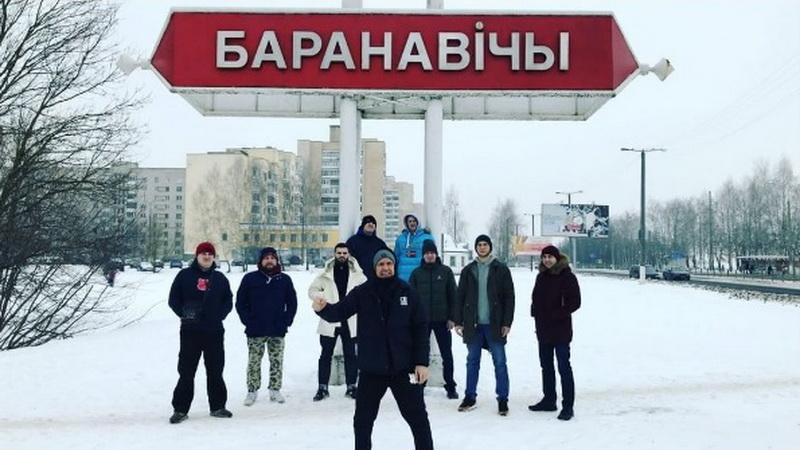 Группа Brutto записала оригинальное приветствие для Барановичей