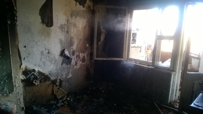 Два человека погибли на пожаре в барановичской девятиэтажке на улице Наконечникова