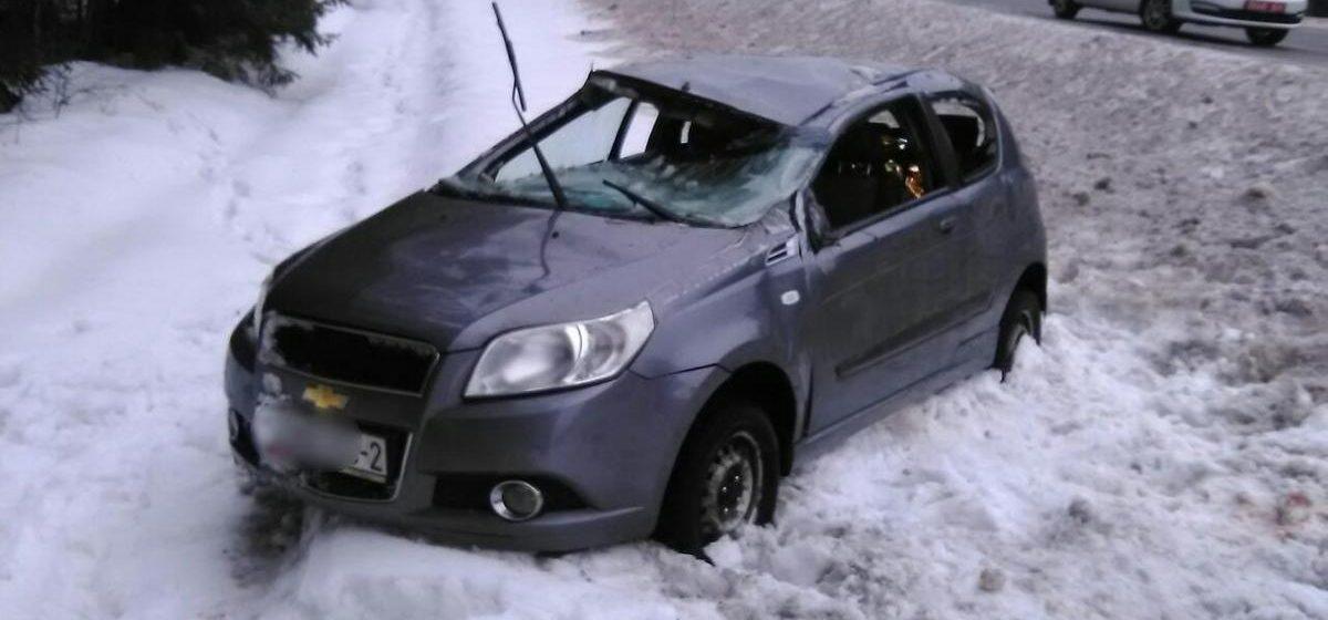 В ДТП под Барановичами перевернулся «Шевроле» – пострадал житель Витебска