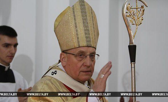 Католический архиепископ призвал власти и народ Беларуси к примирению
