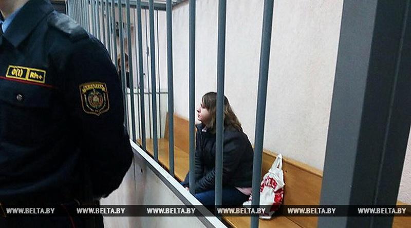 В Минске начался суд над женщиной, которая выбросила младенца в мусоропровод