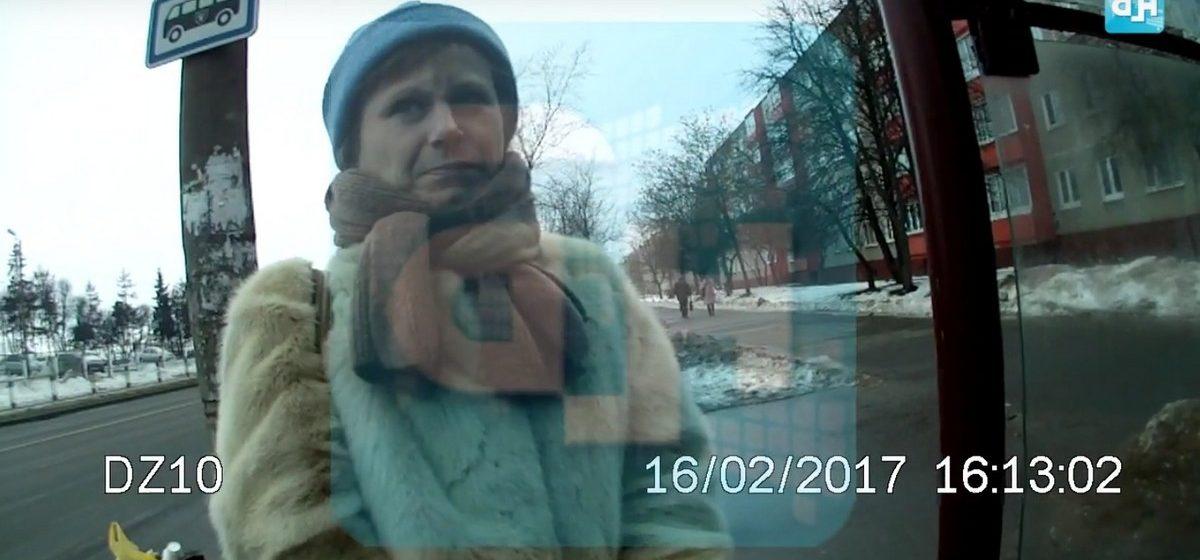 Задержание женщины-«зайца» в Минске — в сеть выложили ролик с видеорегистратора контролера