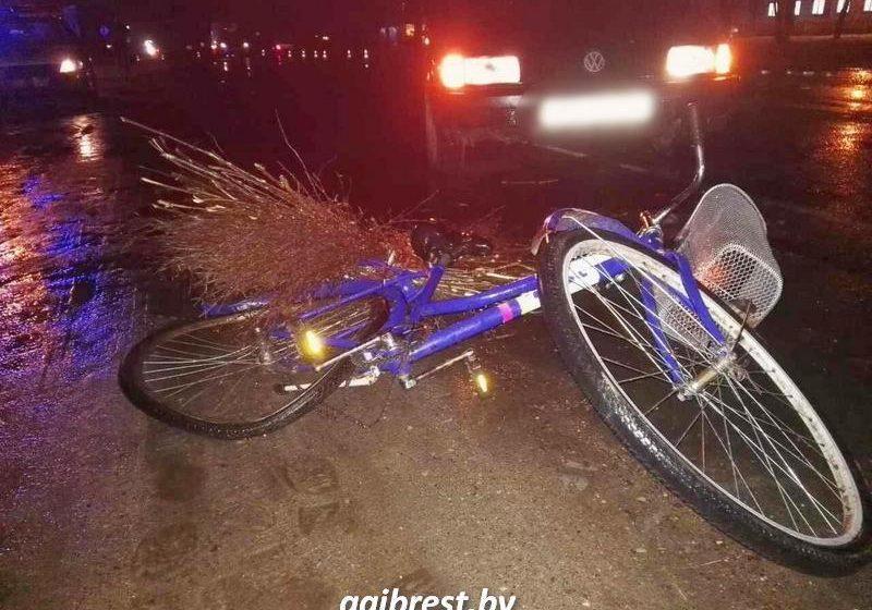 Водитель из Барановичей сбил в Пружанах велосипедиста