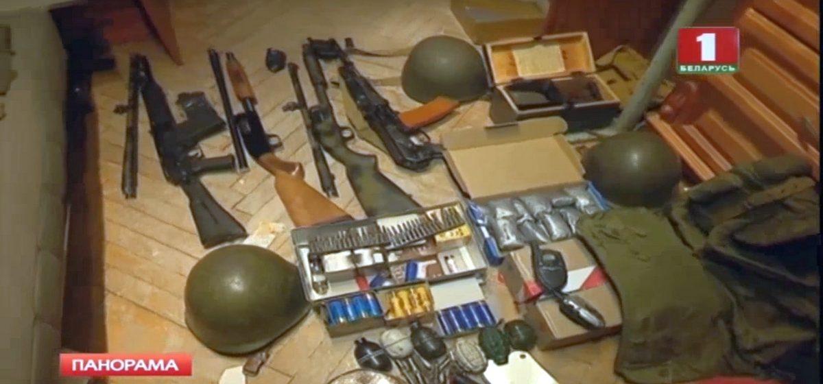 Показанное по БТ оружие изъятое у «Белого легиона» – страйкбольное?