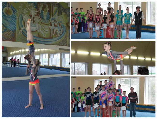 Барановичские спортсмены заняли первые места на областных соревнованиях по спортивной акробатике