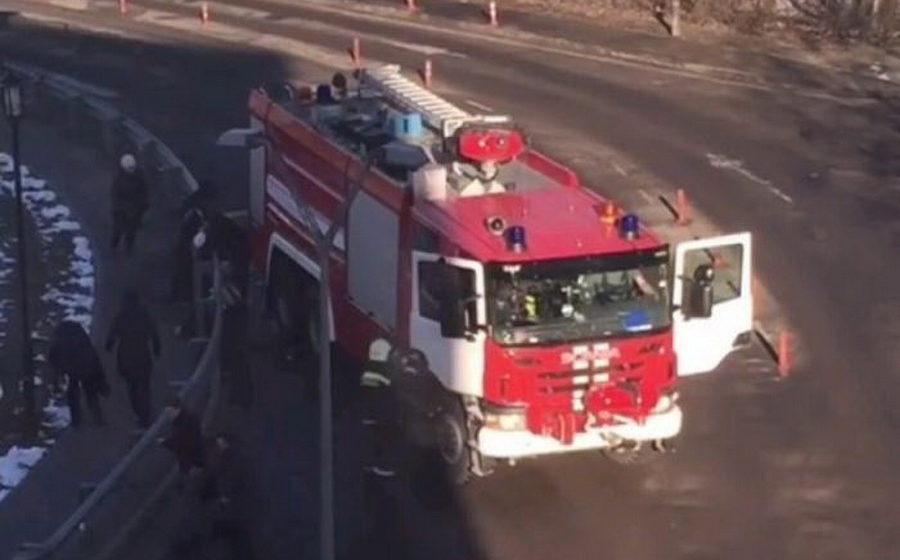 В Домодедове пожарный автомобиль сбил группу людей, есть погибшие