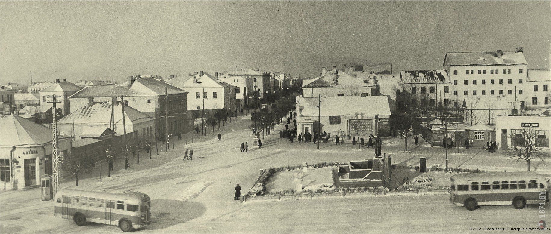 Площадь Победы, 1952 (Площадь Ленина)