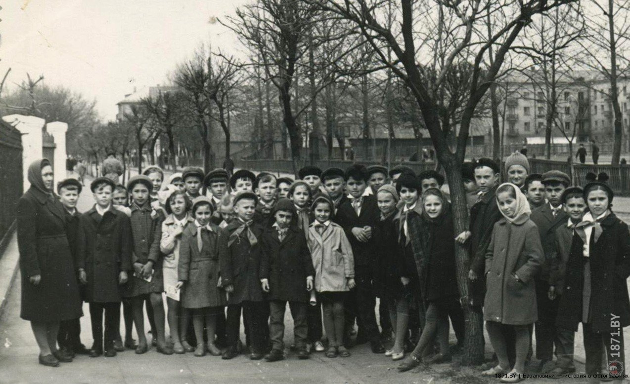 Барановичи. Димитрова улица, 1964