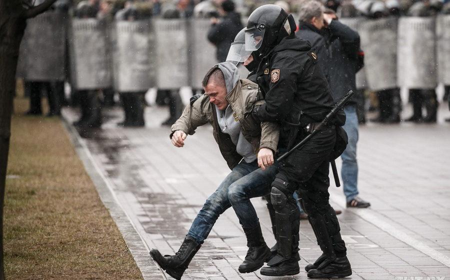 В Минске 27 марта прошли суды над задержанными во время акций протеста