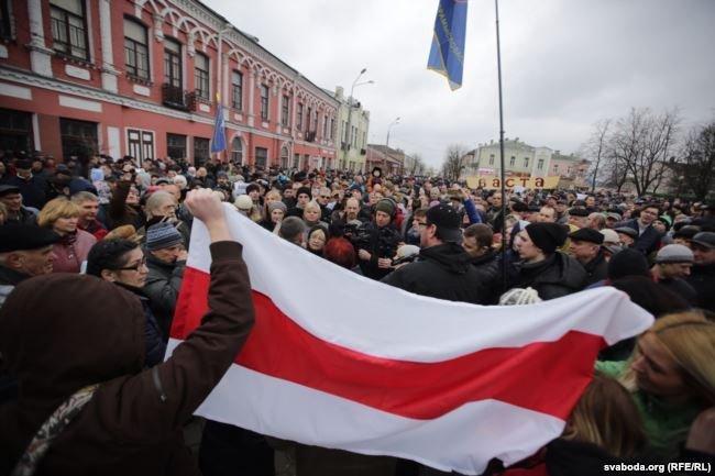 Протесты в Бобруйске, Орше и Рогачеве (онлайн)