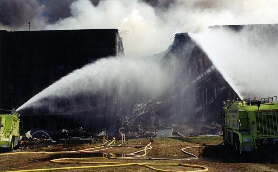 ФБР опубликовало фотографии Пентагона, сделанные после теракта 11 сентября