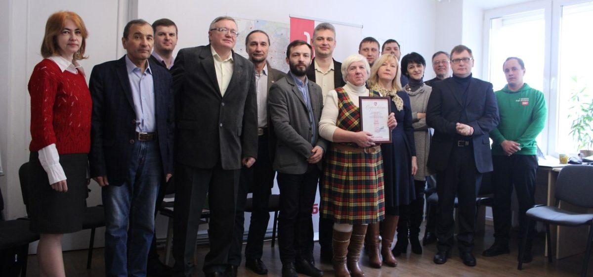 Галина Ярошевич из Барановичей стала первым лауреатом премии имени Виктора Сырицы