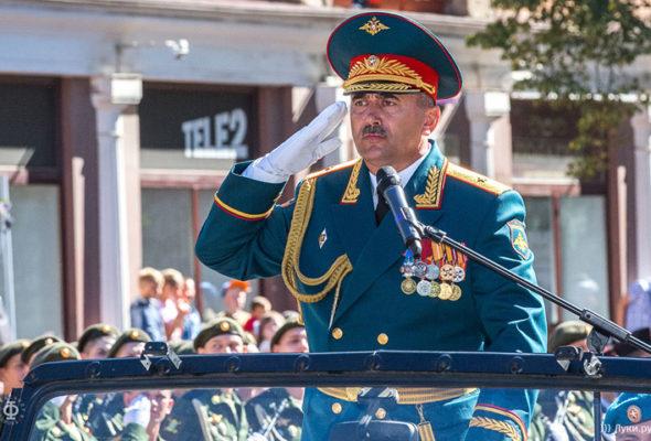Российскому генералу в Сирии фугасом оторвало ноги и выбило глаз