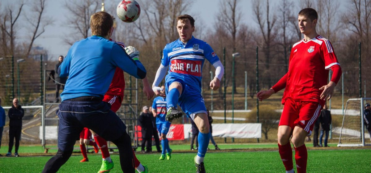 ФК «Барановичи» уступил в контрольном матче клубу Высшей лиги