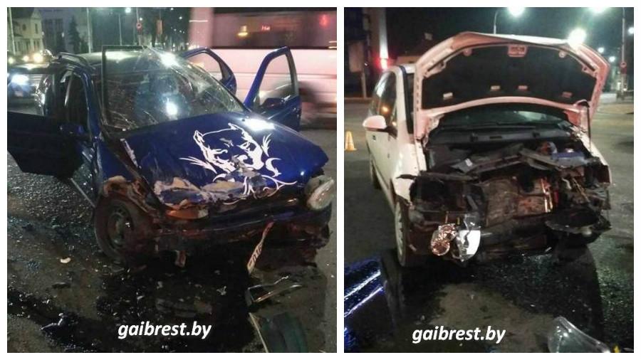 В Бресте в ДТП пострадал 2-летний ребенок, которого перевозили в бескаркасном автокресле