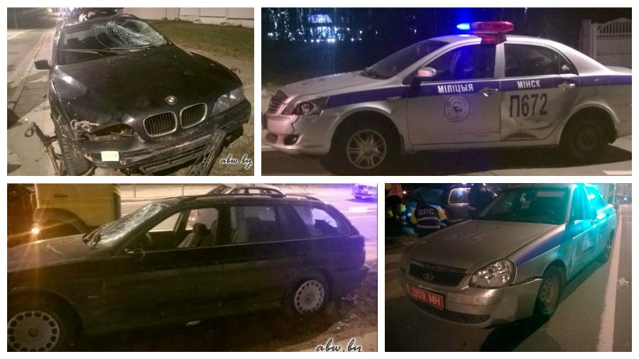 В Минске 14 экипажей ГАИ со стрельбой преследовали BMW