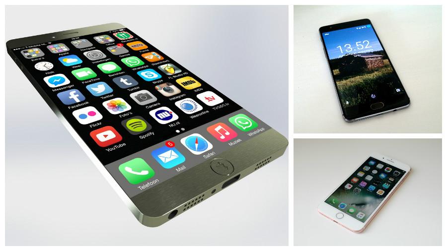 Названы десять самых мощных смартфонов в мире