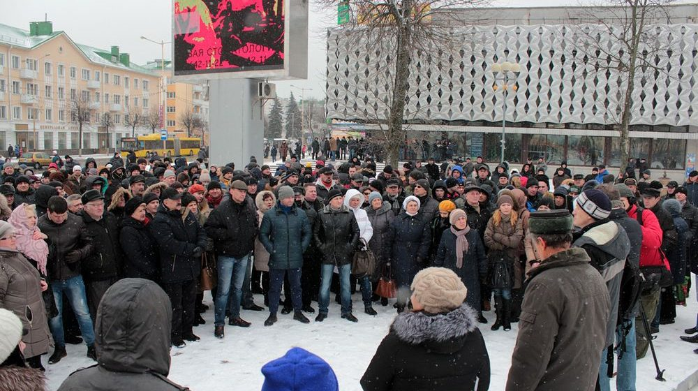 В Барановичах прошел еще один суд над участниками митинга против Декрета №3