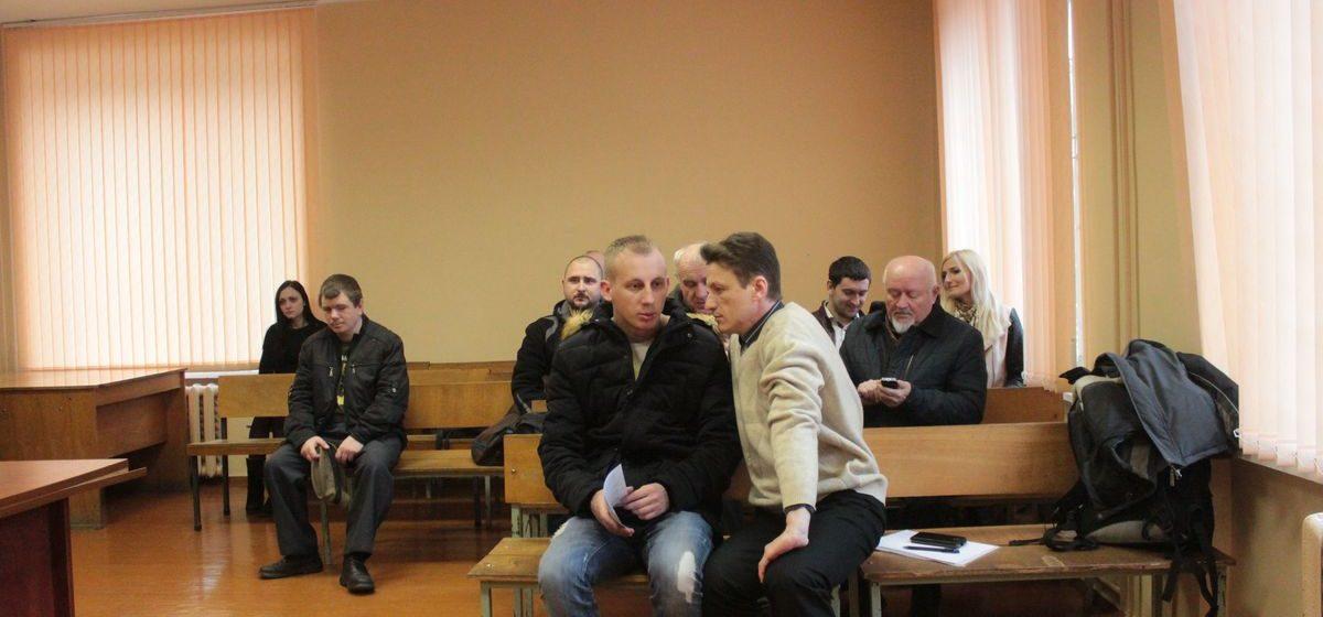 В Барановичах осудили участников митинга против Декрета №3