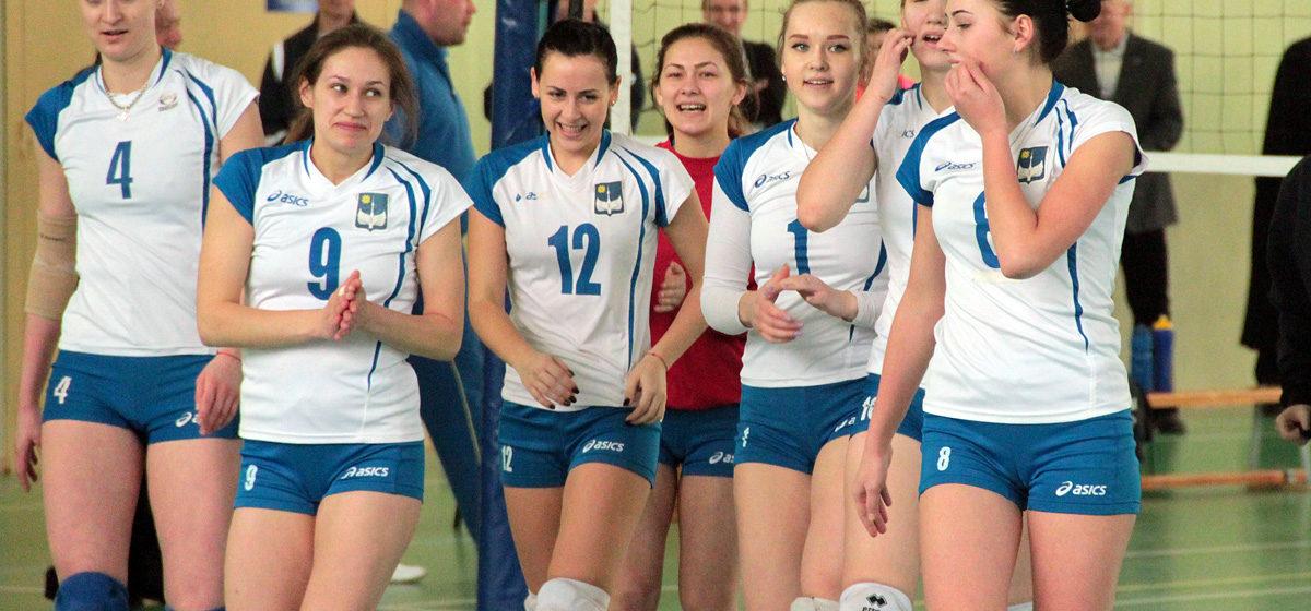 Волейболистки БарГУ заняли первое место на республиканской универсиаде