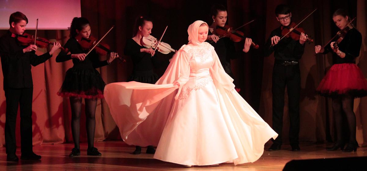 Концерт «солнечных детей» прошел в Барановичах