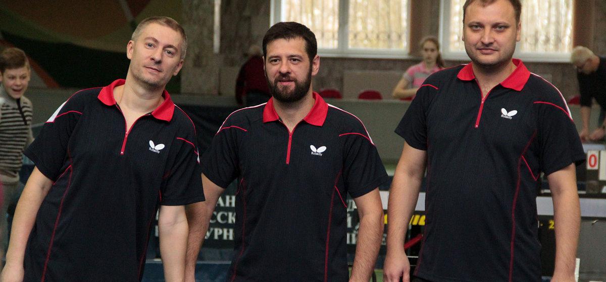 В Барановичах состоялся командный чемпионат страны по настольному теннису