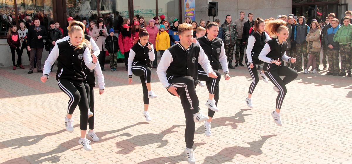 В Барановичах прошла акция, посвященная здоровому образу жизни