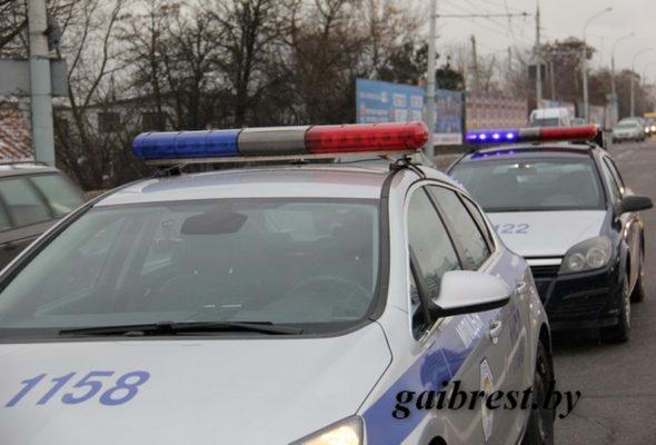В Бресте 11-летняя девочка выскочила на дорогу и попала под колеса Honda (видео)