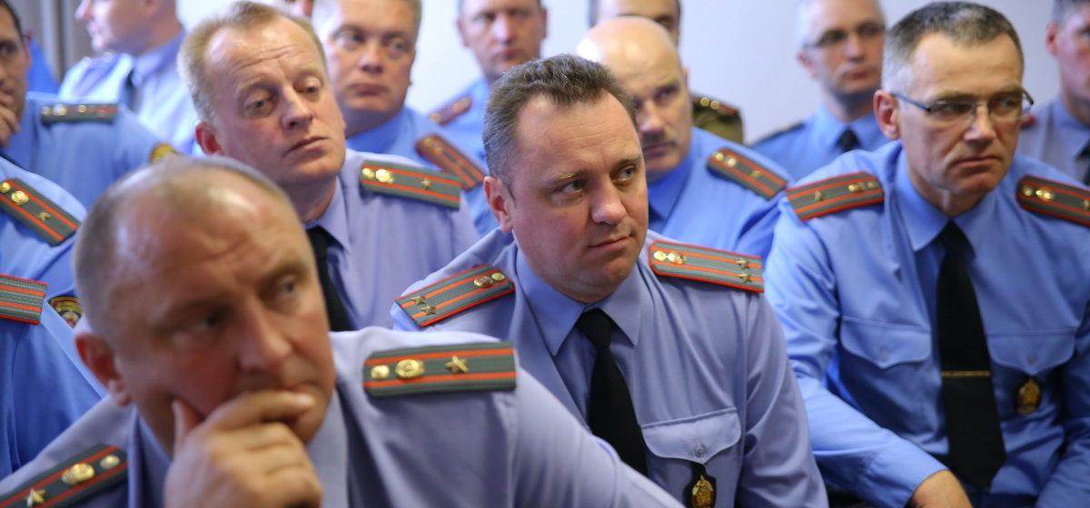 Лукашенко направил поздравление к 100-летию белорусской милиции