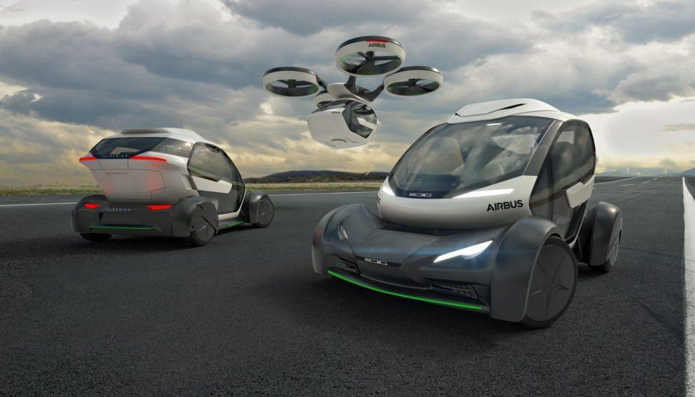 Компания Airbus представит первый концепт летающего автомобиля
