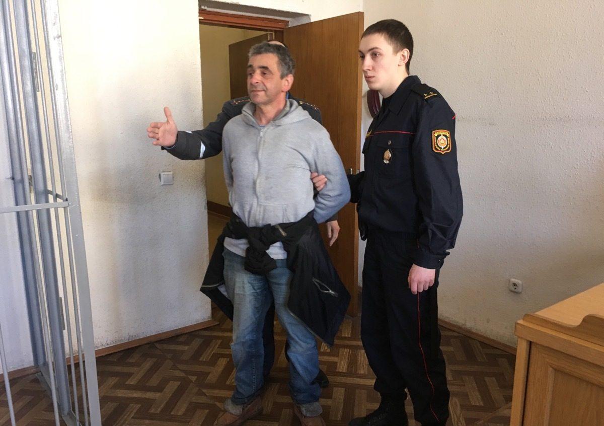 Леонид Кулаков в суде, фото: NNNN